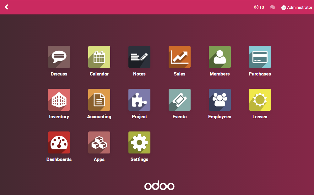 About Odoo ERP
